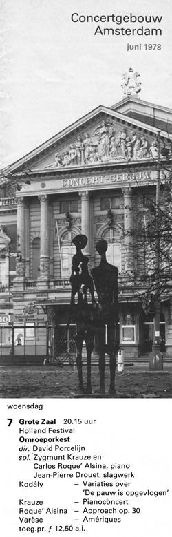 Carlos Roqué Alsina Amsterdam 1978