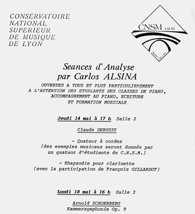 Carlos Roqué Alsina CNSM