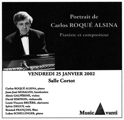 Carlos Roqué Alsina Portrait Cortot 2002