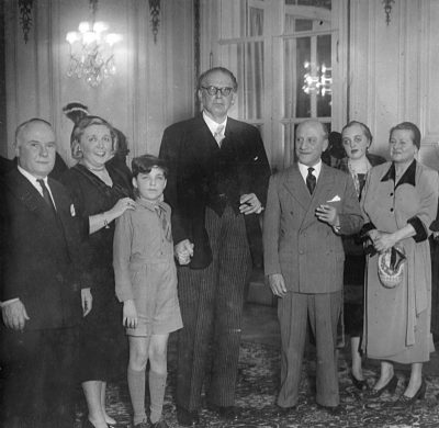 Avec Otto klemperer - Buenos Aires 1951