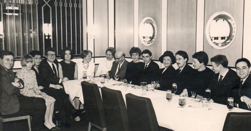 Carlos Roque Alsina avec Maria Schreker 1965