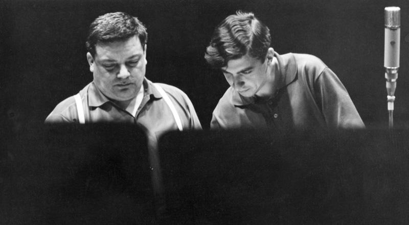 Carlos Roque Alsina avec Bruno Maderna - Darmstadt 1966