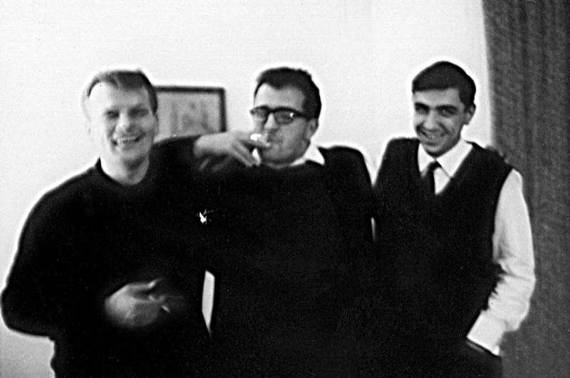 Carlos Roque Alsina avec Berio et Globokar - Berlin 1965