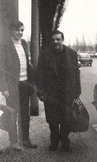 Carlos Roque Alsina avec Bruno Maderna - Berlin 1967