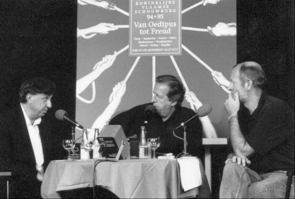 Carlos Roqué Alsina avec Franz Marijnen Bruxelles 1995