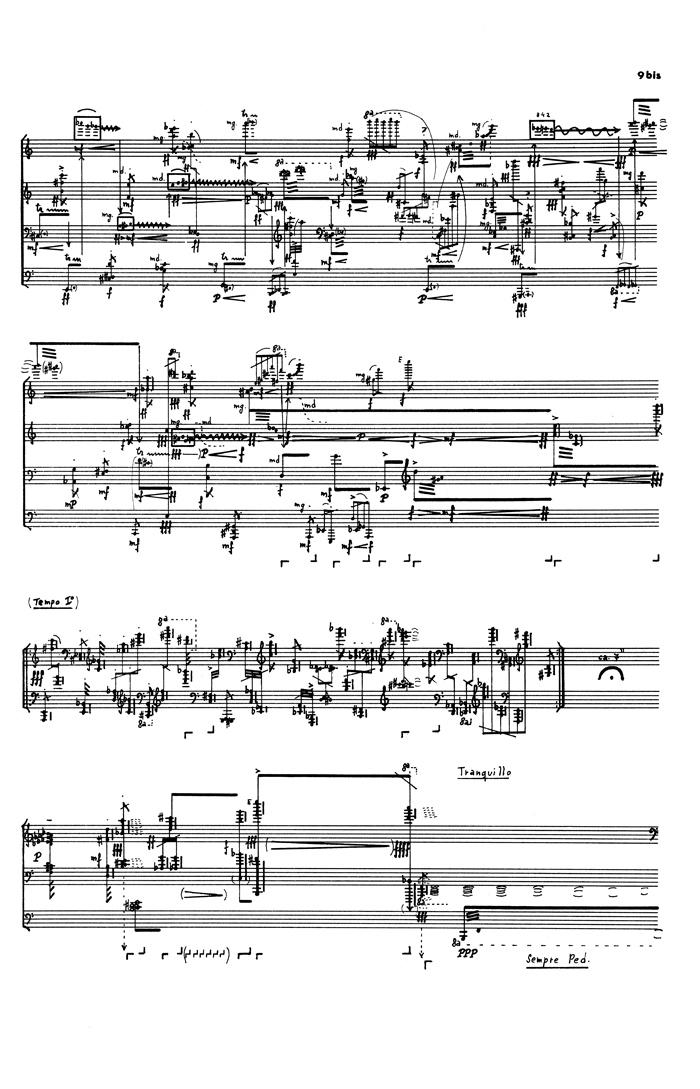 5 Klavierstück 3 p9bis