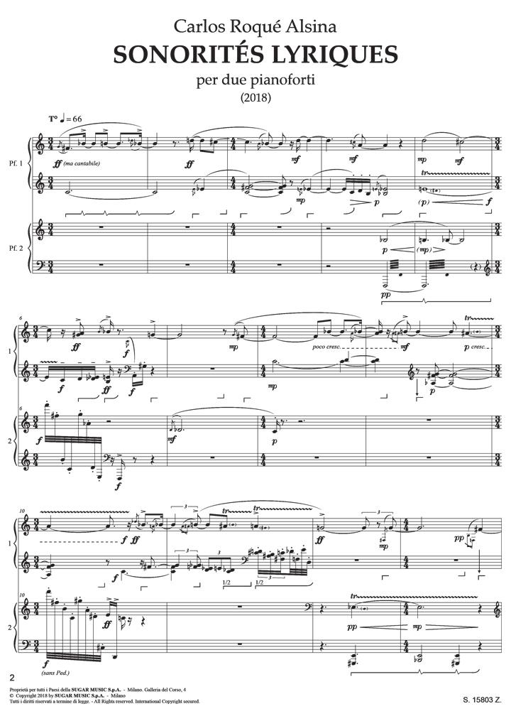 Sonorités Lyrique p2
